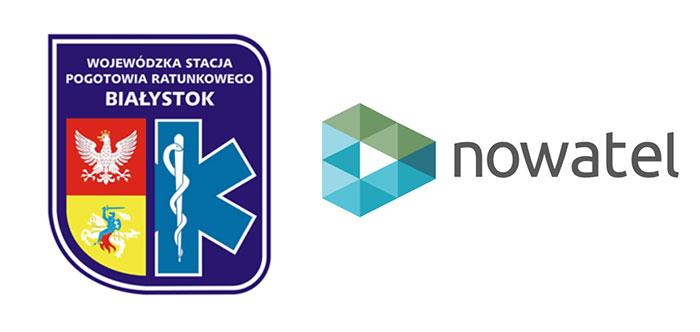 nowatel-bialystok-pogotowie-ratunkowe-logotypy